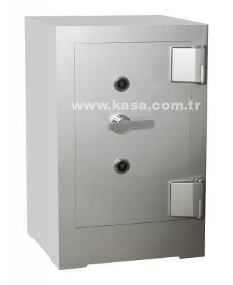 Nato Safe NSH 100 Anahtarlı Ve Elektronik Şifreli Çelik Kasa 600Kg - Thumbnail