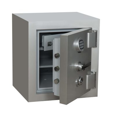 Nato Safe NSH 60 Anahtarlı Ve Elektronik Şifreli Çelik Kasa 350Kg - Thumbnail