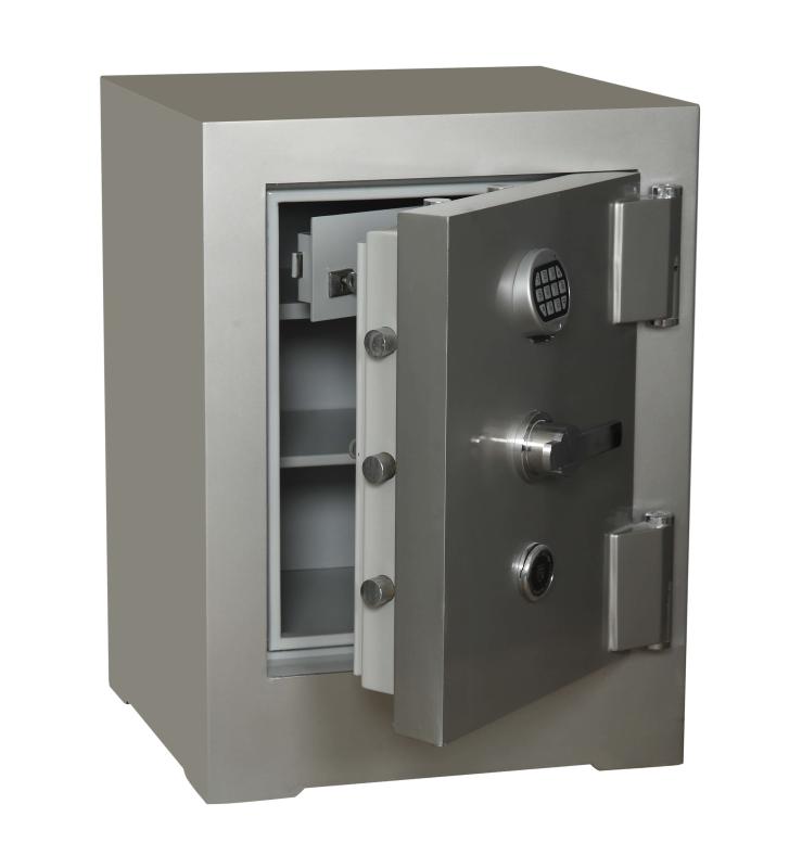 Nato Safe NSH 80 Anahtarlı Ve Elektronik Şifreli Çelik Kasa 500Kg