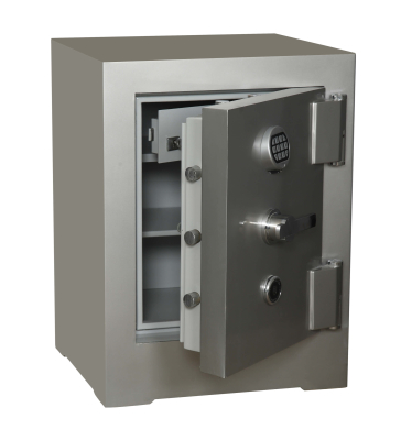 Nato Safe NSH 80 Anahtarlı Ve Elektronik Şifreli Çelik Kasa 500Kg - Thumbnail